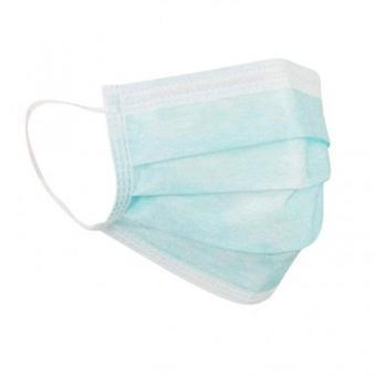 100-pack στόμα φρουρά προστατευτικά προστατευτικά ιατρική χειρουργική μάσκες 3-στρώμα