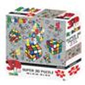 Brainiac Rubik-apos;s Super 3D Puzzles 150 et 500 Pièces