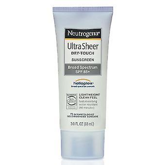 Neutrogena ultra sheer dry-touch sunscreen, spf 85, 3 oz