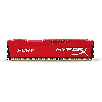 HyperX HX318C10FR/4 Fury 4 GB, 1866 MHz, DDR3, CL10, UDIMM, 1.35V, Red