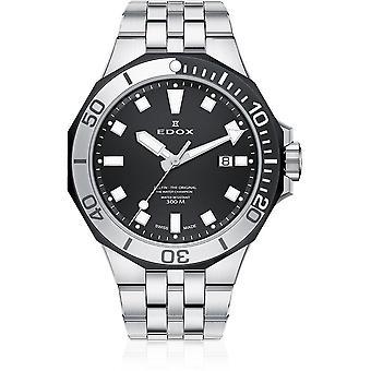 Edox - Relógio de Pulso - Homens - Golfinho - Data do Mergulhador - 53015 357NM NIN
