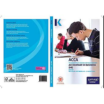 ACCOUNTANT IN BUSINESS - EXAM KIT by KAPLAN PUBLISHING - 978178740409