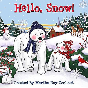 Hello, Snow! [Board book]