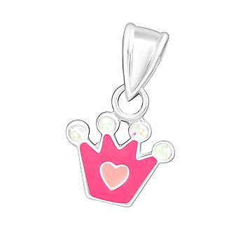 Crown - 925 Sterling Silver Pendants - W23868x