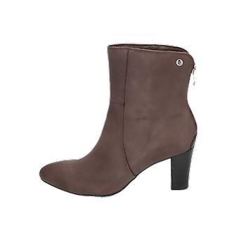 كابريس دا الأحذية المرأة الأحذية الرمادية الدانتيل متابعة الأحذية الشتاء