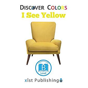 I See Yellow by Xist Publishing - 9781532410123 Book