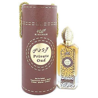 Rihanah Private Oud Eau De Parfum Spray (Unisex) By Rihanah 3.4 oz Eau De Parfum Spray