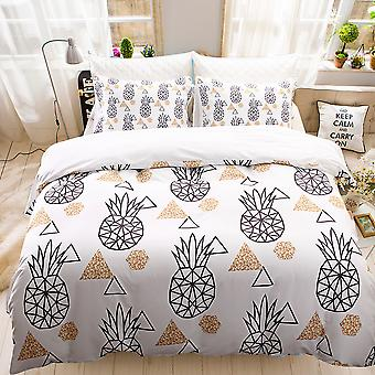 Pineapple Printed Bedding Set