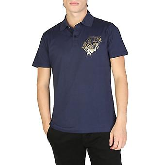 Versace jeans - blue polo shirt