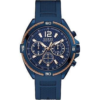 כנראה W1168G4 מנחשולים הכרונוגרף כחול שרף רצועה לגברים ' s שעון