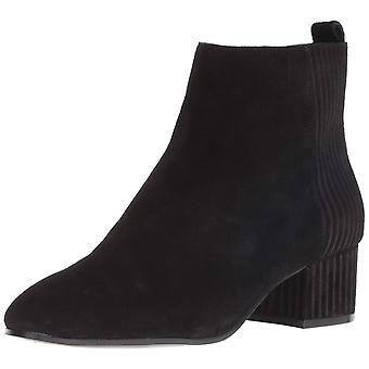 Nine West Womens Lamonto Leather Round Toe Ankle Fashion Boots