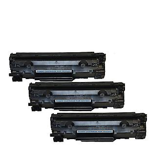 Hp Ce278 78A Cart326 Black Generic Toner Set Of 3