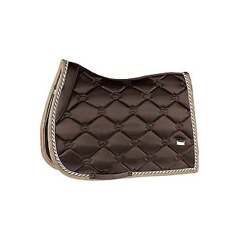 PS of Sweden Ps Of Sweden Monogram Full Size Jump Saddle Pad - Chocolate