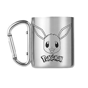 Pokémon, Mug with Carabiner - Eevee