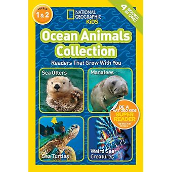 Nat Geo Readers Ocean Animals Collection Lvls 1 amp 2 by National Geographic Kids