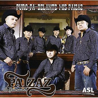Paizaz De Guanacevi - Puro Pa' Delante Mis Paizaz [CD] USA import