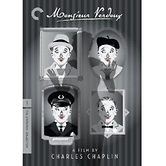 Monsieur Verdoux [DVD] USA importerer