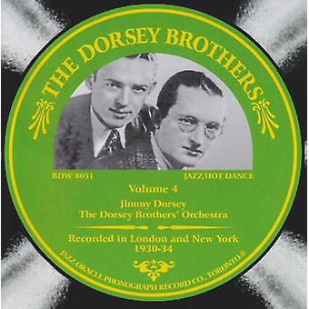Dorsey Brothers - Dorsey Brothers: Vol. 4 [CD] USA import