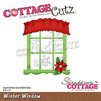 Scrapping Cottage Winter Window