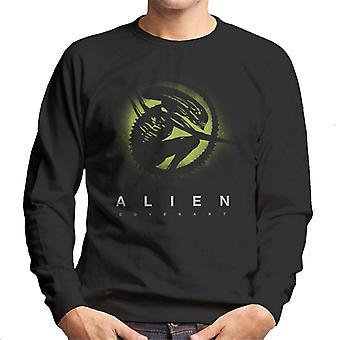 Alien Covenant Xenomorph Silhouette miesten ' s College pusero