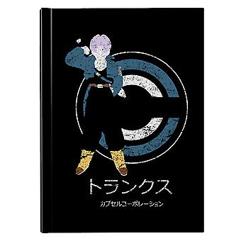 Saiyan From The Future Dragon Ball Z Hardback Journal