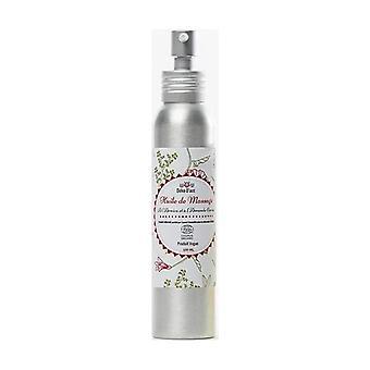 Organic massage oil 100 ml of oil