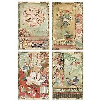 ورق الأرز A4 بطاقات بريدية يابانية (DFSA4396)