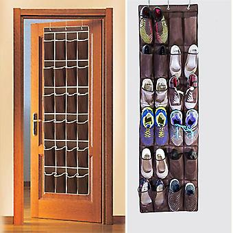 Fast 24 Pocket Shoe Space Door Hanging Organizer