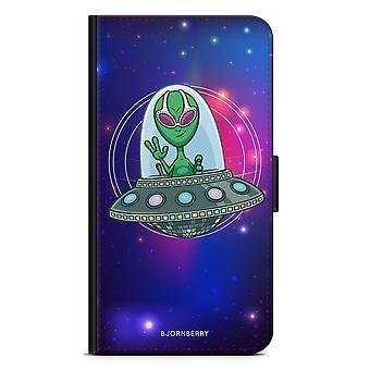 Bjornberry Wallet Case LG G5 - UFO Alien