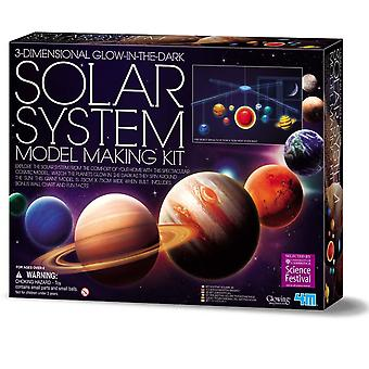 Glow In The Dark 3D Solar System - Large