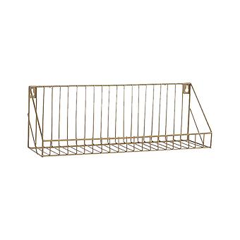 Creative Wall-mounted Iron Storage Racks Home Decoration Large Gold