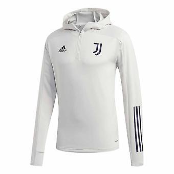 2020-2021 Juventus Trainingsanzug Hoody (Grau)