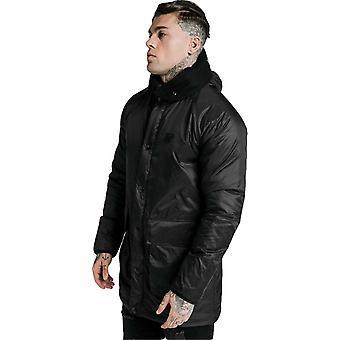 Sik Silk Navigate Puff Parka Jacket Black 14