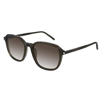 Saint Laurent SL 385 004 Green/Brown Gradient Sunglasses