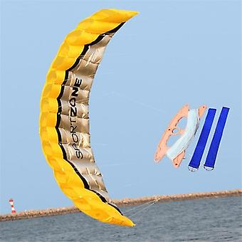 2.5 Meter Novelty Dual Line Flying Kite Parafoil Sports Software -parapendio Nylon Beach Kite Stunt Outdoor Toys For Adult Kids