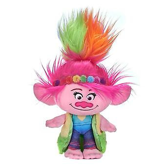 Trolls World Tour Rainbow Poppy Plush Toy