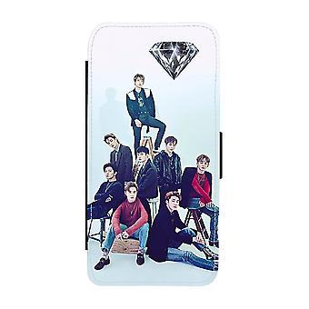 EXO OT8 Samsung Galaxy S9 Plånboksfodral