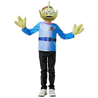 Aliens Deluxe Little Green Men Disney Toy Story 4 Movie Child Boys Kostuum 3-6