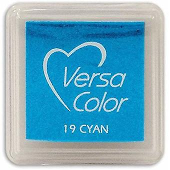 Versasmall Cyan Blue Pigment Small Ink Pad - Pigment Ink - Craft Ink