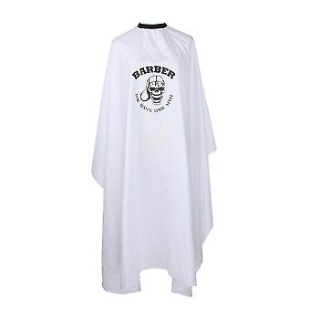 Homemiyn Haircut Cloth Pure White Skull Apron