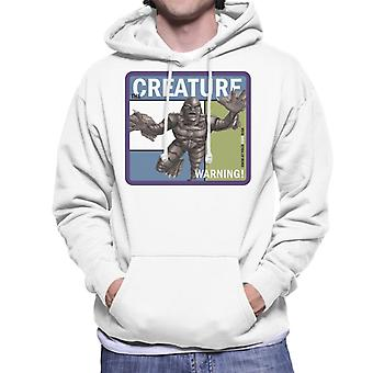 The Creature From The Black Lagoon Warning Men's Hooded Sweatshirt