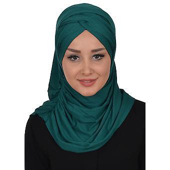 Hilda - One-Piece Bomull Hijab Fra Ayse Turban.