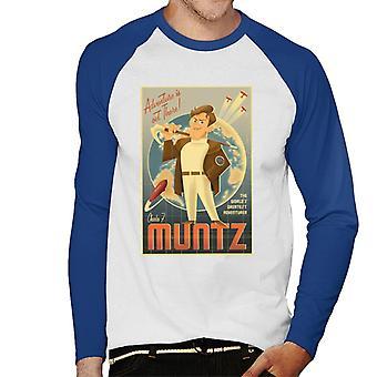 Pixar Up Adventure är ute Men & apos, s Baseball Långärmad T-shirt