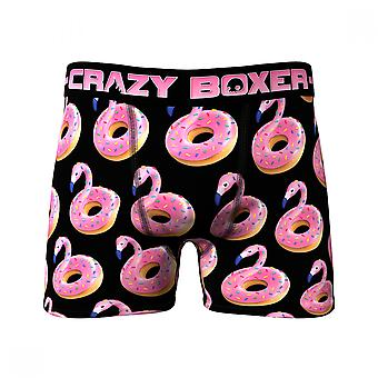 Flamingo Donuts All Over Print Men's Underwear Boxer Briefs