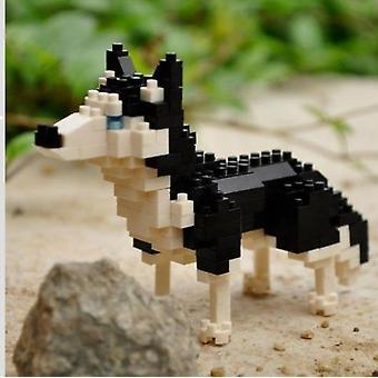 Mini blocchi di costruzione giocattolo animale