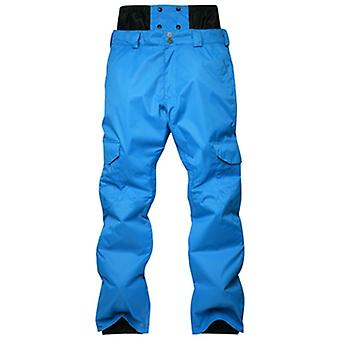Men's Waterproof Warm Thick Snowboard Pants, Outdoor Hiking Ski Breathable