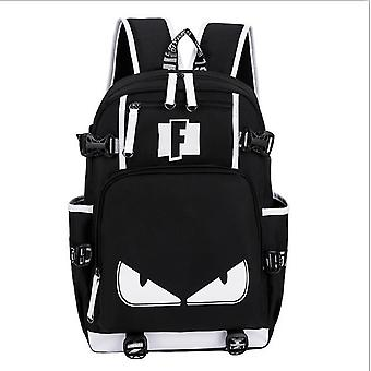 Men Teens Schoolbag Multifunction Usb Backpack Travel Camping Computer