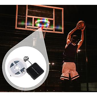 Basket Hoop Solar Basketball Rim Playing At Night Shooting Accessories