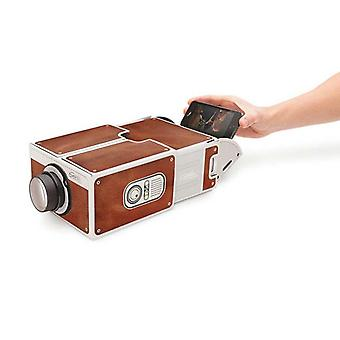 Mini Projecteur, Portable Diy Cardboard For Smart Phone, Cinéma Home Theater