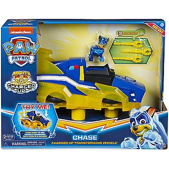 Paw Patrol Transforming Lichter & Sounds Deluxe Fahrzeug CHASE